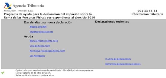 pedir datos fiscales incorporar datos fiscales al programa padre rh jullastres es manual renta 2010 manual renta 2010 aeat